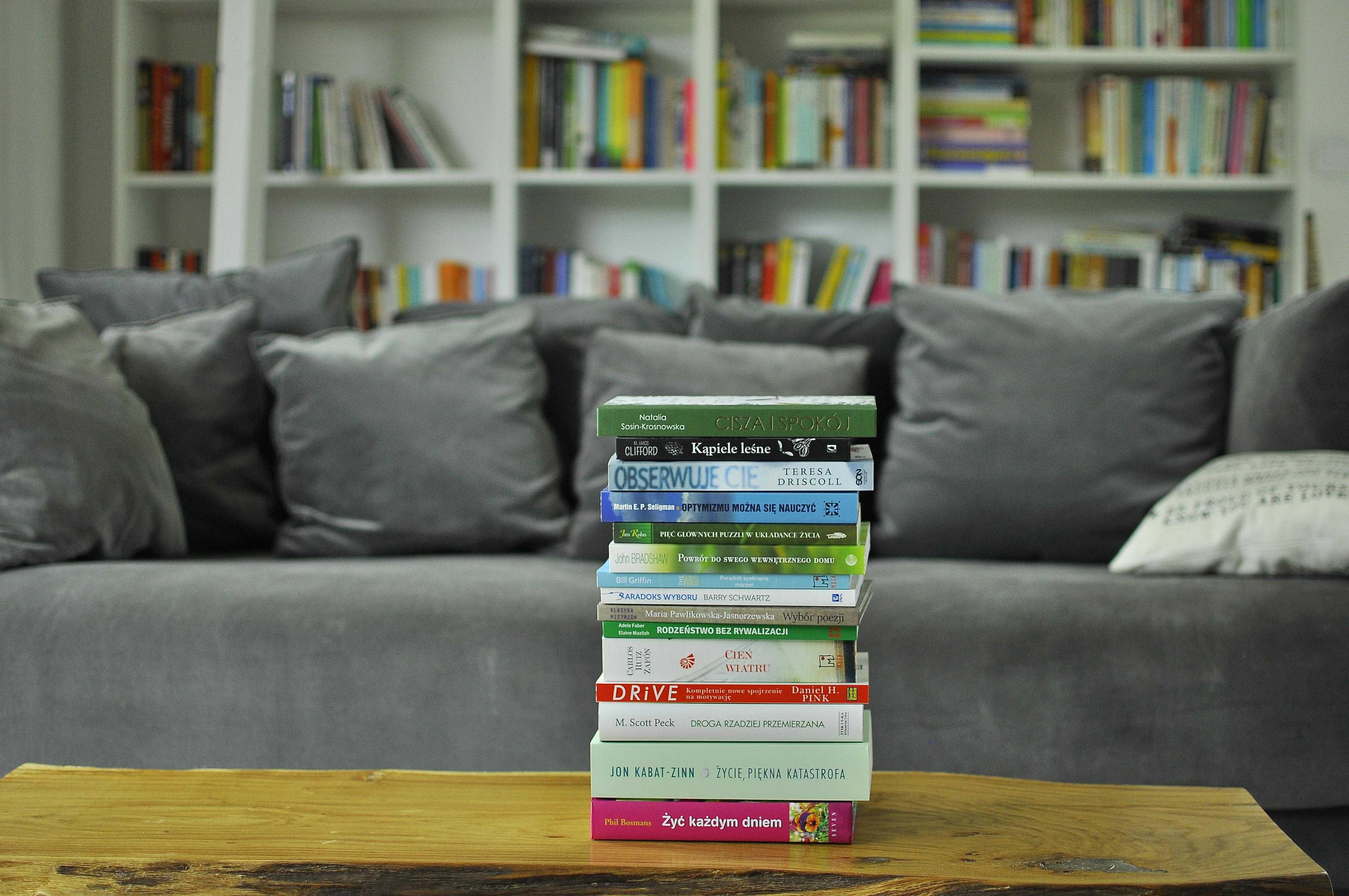 Kupiłam za dużo książek! Stosik książkowy na jesień i zimę